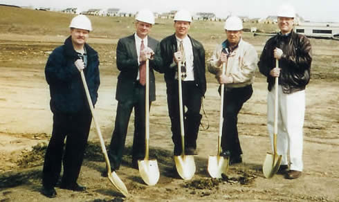 Century Products Ground Breaking